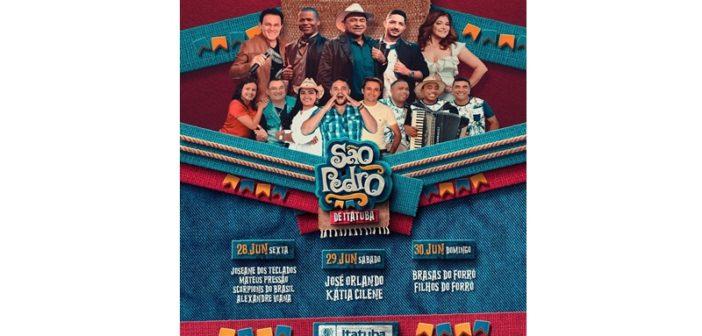 Começa nesta sexta (28) o melhor São Pedro da região. Confira programação 2019