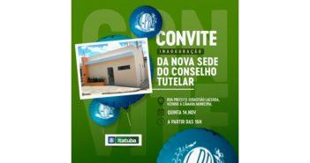Prefeitura inaugura nova sede do Conselho Tutelar nesta quinta (14)
